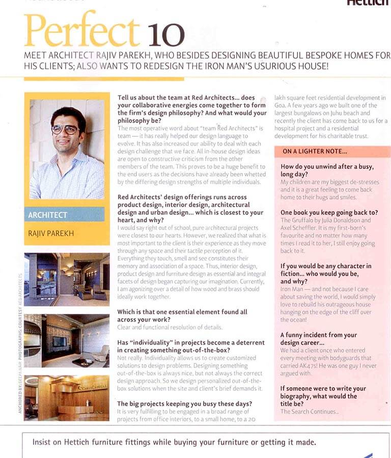 reD Publications Better Interiors 2015